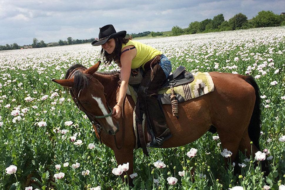 Andrea Karasová aláska ke koním