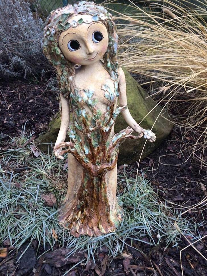 stromova Vila 55cm keramika andee