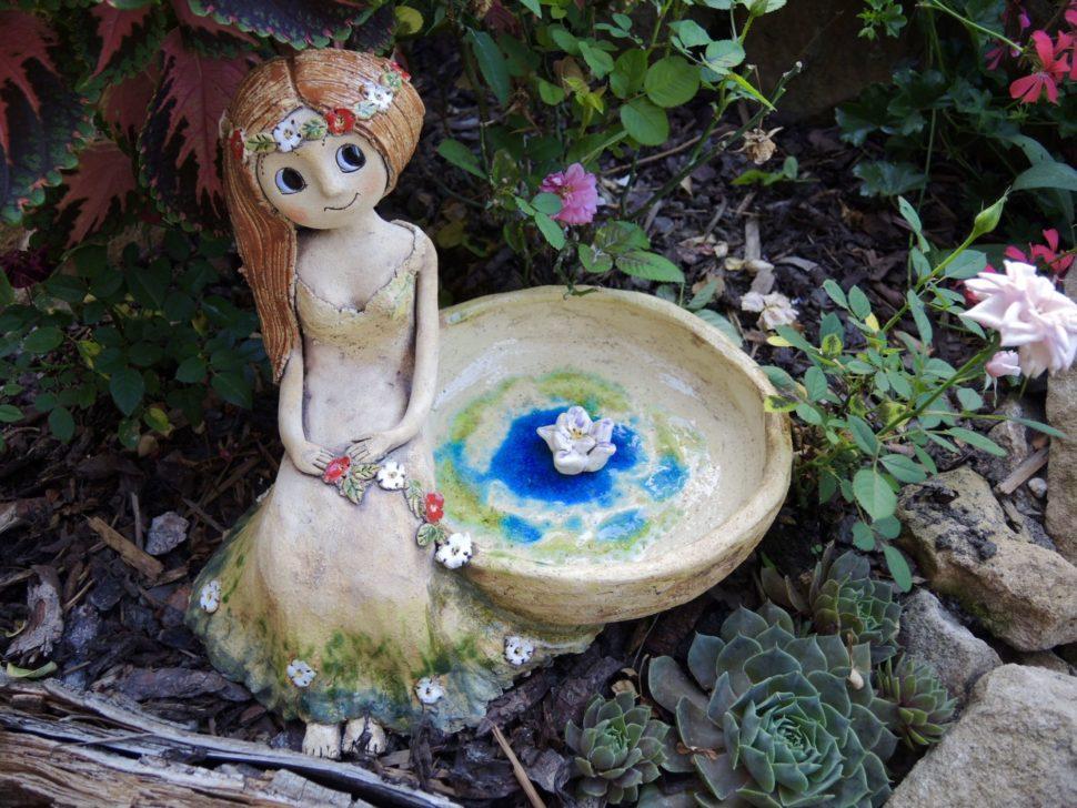 pítko svílou jezírko keramika andee
