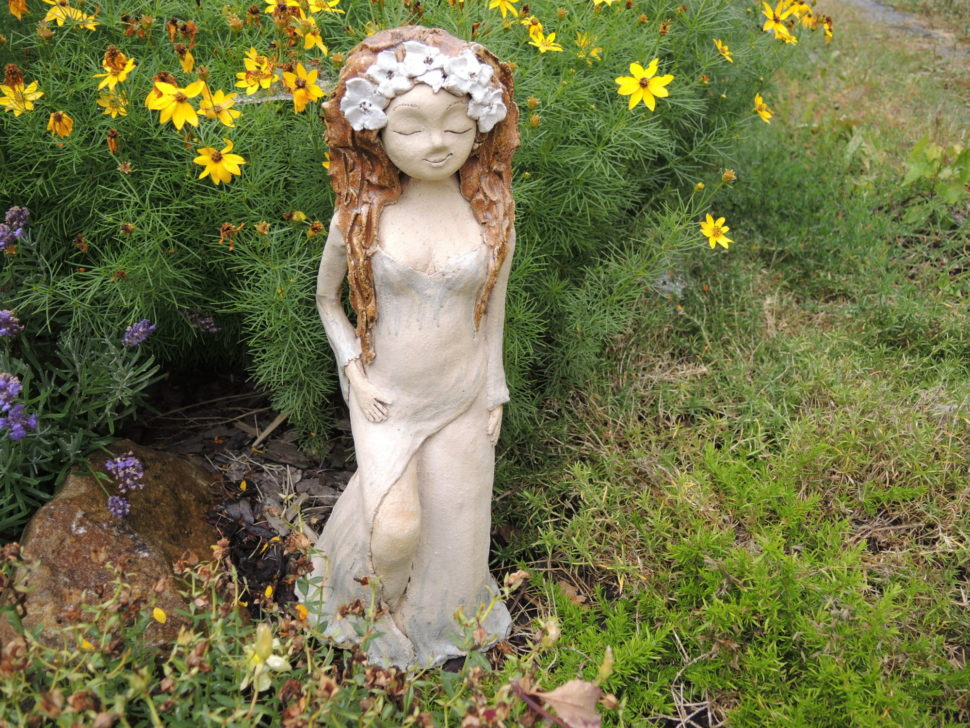 něha bohyně jsem žena smiskou keramika andee